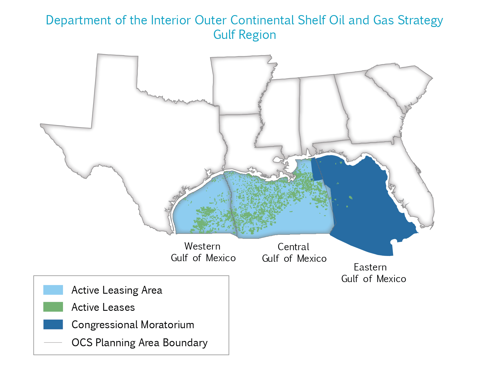 Oil Rigs In Gulf Of Mexico Map.Gulf Of Mexico Bureau Of Safety And Environmental Enforcement