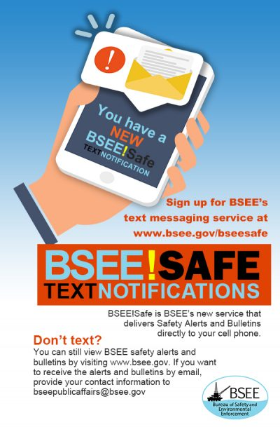 Bureau of Safety and Environmental Enforcement | Promoting Safety